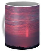 Sun Pillar Horizontal Coffee Mug