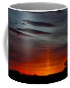 Sun Pillar In The Morning Coffee Mug