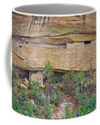 Sun Point Pueblo View-12-1300 Ad  On Chapin Mesa Top Loop Road In Mesa Verde National Park-colorado  Coffee Mug