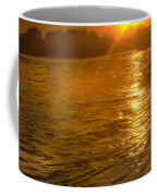 Sun Rays On The Payette River Coffee Mug
