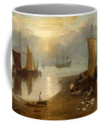 Sun Rising Through Vagour Coffee Mug
