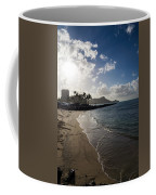 Sun Sand And Waves - Waikiki Honolulu Hawaii Coffee Mug