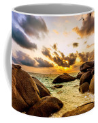 Sun Sand Sea And Rocks Coffee Mug