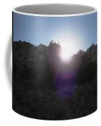 Sun Sets At Tent Rocks Coffee Mug