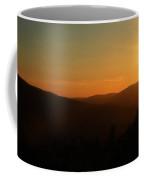 Sun Sets Over Mount Battie Coffee Mug