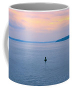 Sun Setting Over Puget Sound Coffee Mug