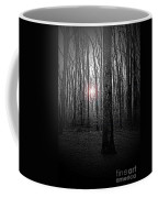 Sun Thru The Trees At Twilight Coffee Mug