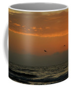 Sun Up With Birds Coffee Mug