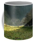 Sunbeams And Mist - Wolfscote Dale Coffee Mug
