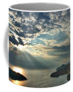 Sunbeams On Dubrovnik Coffee Mug