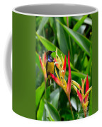 Sunbird On Heliconia Ginger Flowers Singapore Coffee Mug