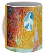 Sunburst, 1989 Wc On Paper Coffee Mug