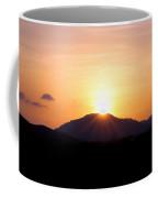 Sunburst Over The Wichitas Coffee Mug