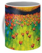 Sunburst Poppies Coffee Mug