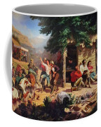 Sunday Morning In The Mines Coffee Mug by Charles Nahl