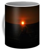 Sundown Alone Coffee Mug