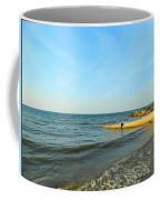 Sundown At Lake Erie  Coffee Mug