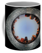 Sundown In The Chicago Canyons Polar View Coffee Mug by Thomas Woolworth