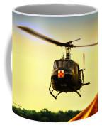 Sundown On The Medevac Coffee Mug