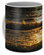 Sundown On The Waves Coffee Mug