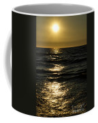 Sundown Reflections On The Waves Coffee Mug