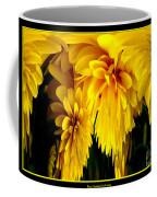 Sunflower Abstract 1 Coffee Mug