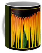 Sunflower Abstract 2 Coffee Mug