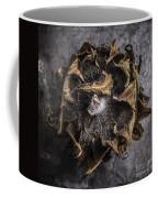 Sunflower Abstract Square Coffee Mug