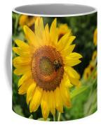 Sunflower And Bee II Coffee Mug