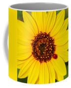 Sunflower And Ladybird Beetle 2am-110490 Coffee Mug