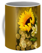 Sunflower And The Lights Coffee Mug