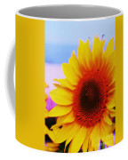 Sunflower At Beach Coffee Mug