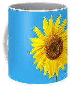 Sunflower Blue Sky Coffee Mug