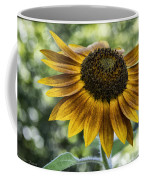 Sunflower Bokeh Coffee Mug