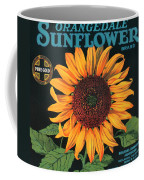 Sunflower Brand Crate Label Coffee Mug