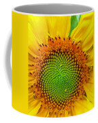 Sunflower Center Coffee Mug