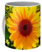 Sunflower Centered Coffee Mug