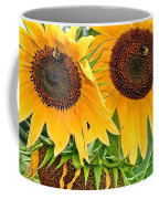 Sunflower Close Up Coffee Mug