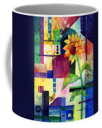 Sunflower Collage 2 Coffee Mug