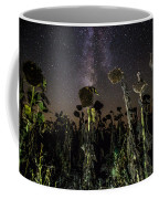 Sunflower Field At Night Coffee Mug