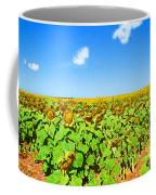 Sunflower Fields Forever Coffee Mug