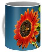Sunflower Honey Bee Coffee Mug