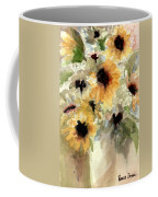 Sunflower Impressions Coffee Mug