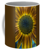 Sunflower In Rain Coffee Mug