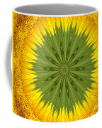 Sunflower Kaleidoscope 3 Coffee Mug