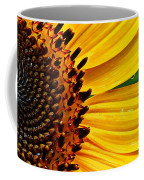 Sunflower Macro Coffee Mug