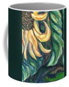 Sunflower One Panel Four Of Four Coffee Mug