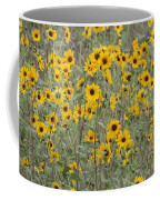 Sunflower Patch On The Hill Coffee Mug by Tom Janca