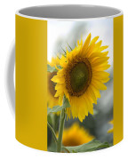 Sunflower Portrait Coffee Mug