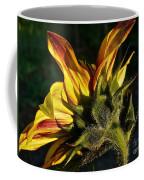 Sunflower Profile Coffee Mug